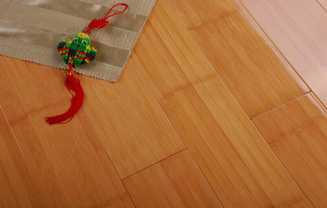本色亮光对节竹地板