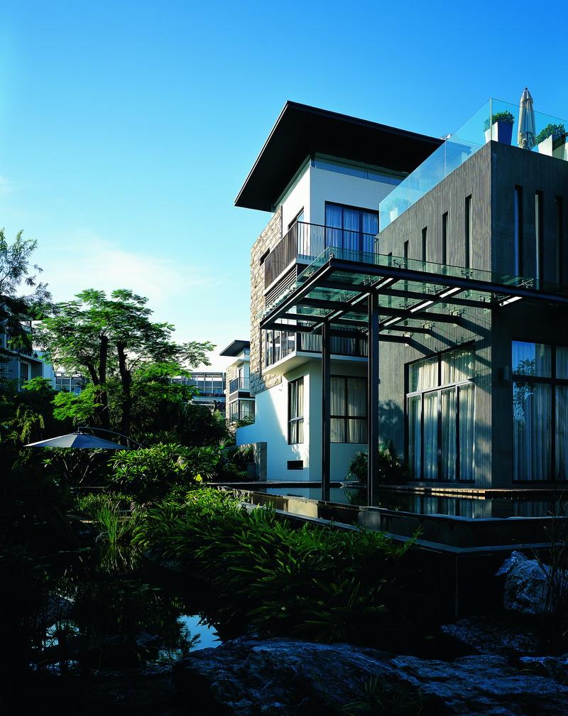山地别墅庭院设计