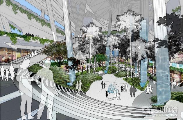 项目委托方: Rock Productions Pte Ltd (Cultural Complex); CapitaLand (Retail Complex)   基地面积: 19,267 sq.m.   建筑面积: 54,000 sq.m.   项目完工: 2011   新加坡市民文化中心位于新加坡纬壹科技城(one-north)汇达林(Vista Xchange)区。这个占地54,000的项目完工后将为市民提供丰富的娱乐活动、生活和各式购物体验。   市民文化中心分为文化区、市民区和零售区。零售区