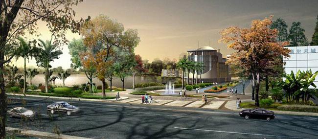 小区街道景观设计
