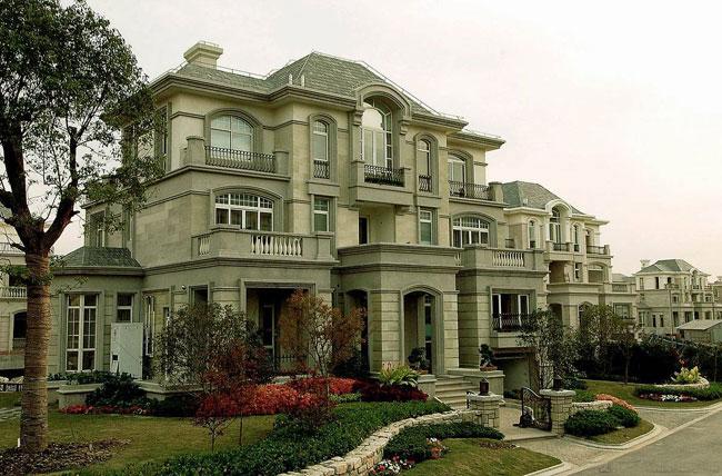 古典别墅景观设计