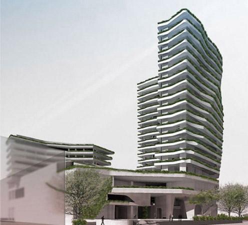 坦桑尼亚酒店建筑设计