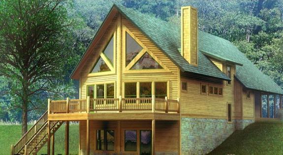 别墅外观设计效果图精选[32P]别墅中式室内设计图片