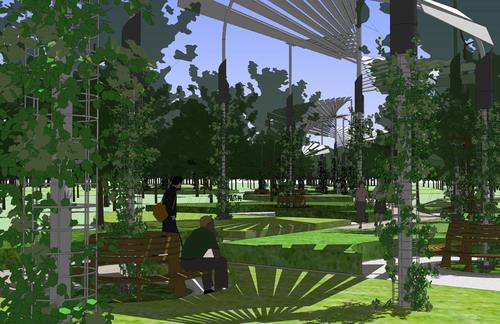 秦皇岛秦皇植物园景观设计