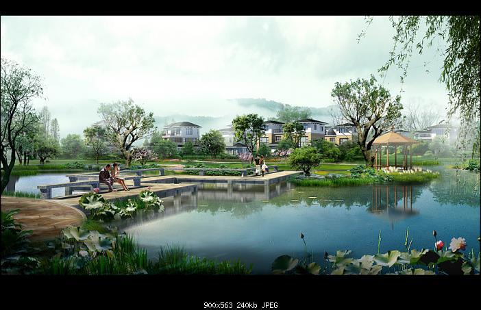 园林景观设计效果图30p