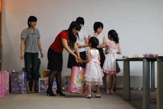 华阳公司举办庆祝六一儿童节活动
