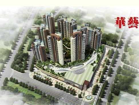 华艺公司中标 深圳龙华中航城项目