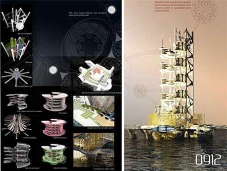 澳大利亚设计师设计海洋垂直生态农场