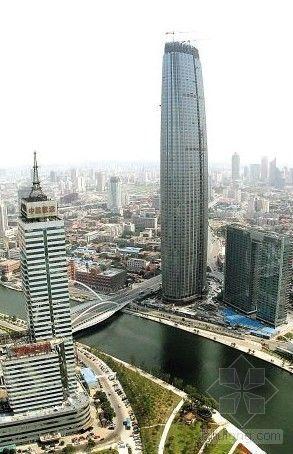 """天津:华北地区第一高楼""""津塔""""揭开面纱"""