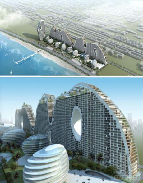 12座深圳建筑设计:山形魔幻山群成长_重庆发育请据图绘制一幅蚊子上榜建设图片
