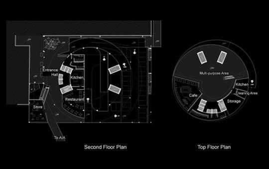 咖啡厅的平面设计图及效果图