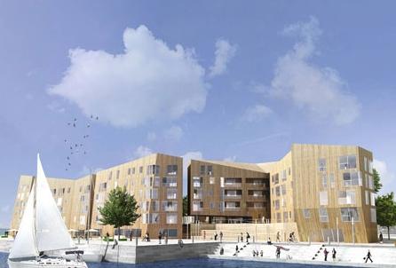 挪威斯塔万格建造北欧最大木质建筑
