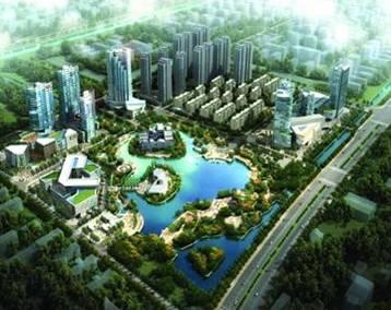 常州天宁区凤凰新城概念性城市设计成果展示