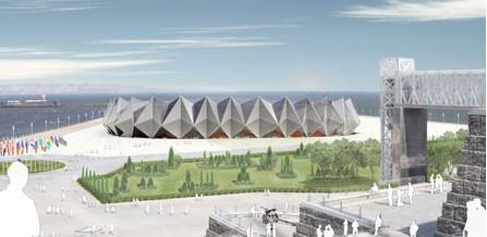 网架结构 首都体育馆