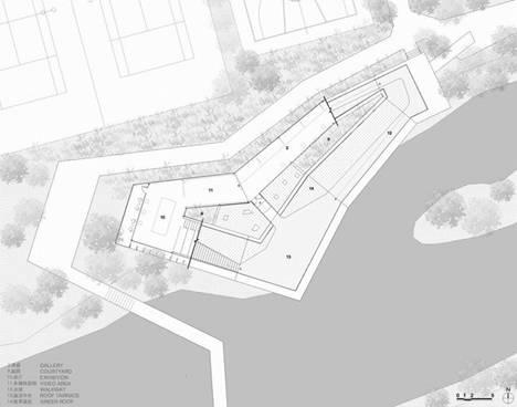 水边商业设计平面图