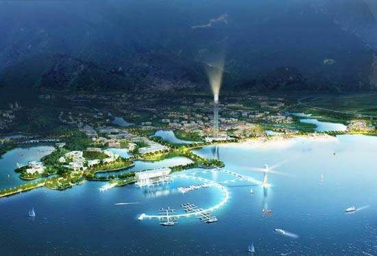 筑博设计项目九江市八里湖中标