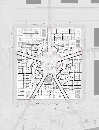 oma提交中国美术馆新馆设计方案