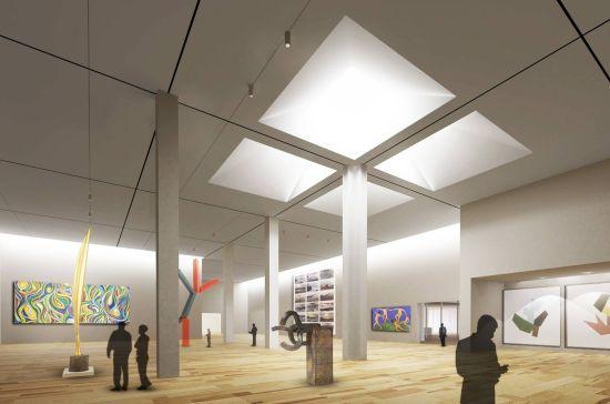 美术馆每年都会不定期组织很多次不同主体的设计、艺术相关的大、小型展览,都是免费向市民开放。