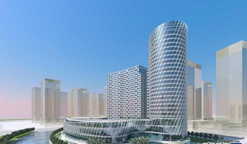世界顶级建筑设计师打造白金五星酒店