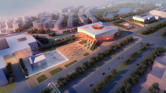 """华艺公司""""绵阳市城乡规划展览馆""""项目中标图片"""