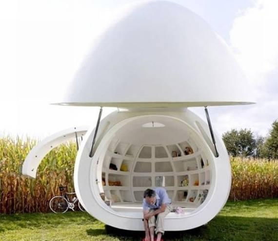 创意建筑物设计:看看那些像水滴一样的房子