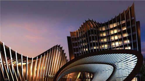 拉脱维亚liesma酒店建筑设计 奇舞飞扬的曲线