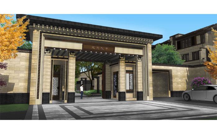 泰禾北京院子是继泰禾运河岸上的院子之后,奥雅和泰禾集团联手打造的北京市场又一院子系列高端别墅力作。双方合作的内容包括北京泰禾中央别墅区孙河地块示范区、售楼处及整区的景观设计。 该项目所处的中央别墅区核心区,孙河板块,是朝阳区仅存的低密度别墅区。景观设计秉持奥雅新中式的设计原则,用现代的手法探索中式园林的精神内核,赋予其中国园林的思想文化,并满足使用者的现代生活功能需求。 整体设计以禅意人生为设计理念,强调一山一水一清风,一月一竹一流云的轻松、宁静、从容、超然的景观氛围。空间梳理上延续了奥雅在运河