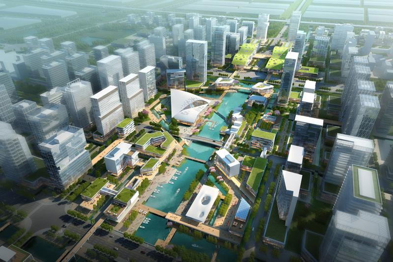 城市空间结构图画法深规院