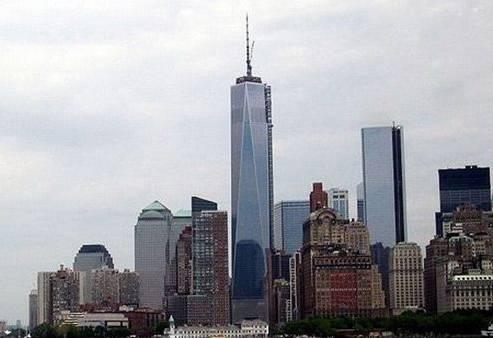大楼自由塔,是美国纽约新世界贸易中心的摩天大楼