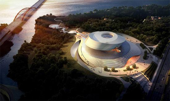 十堰南水北调博物馆建筑设计方案出炉