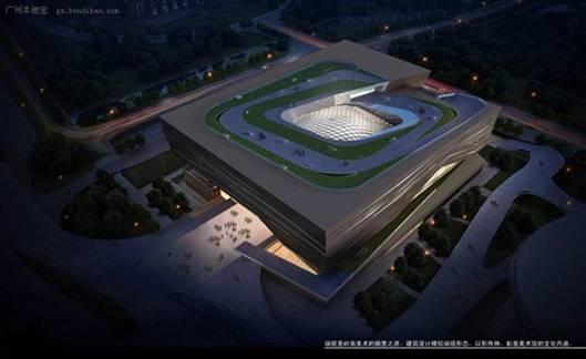 """广州""""四大馆""""建设规划 四大馆设计图及方案"""