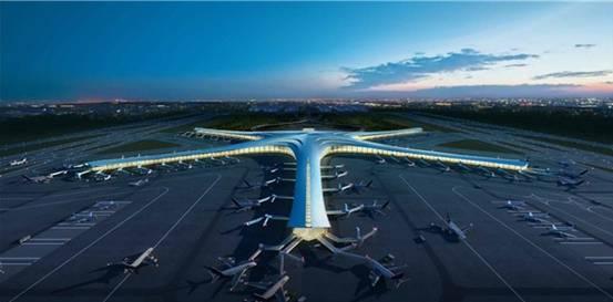 青岛新机场概念规划暨航站楼设计图