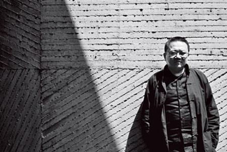 著名建筑师王澍手绘图