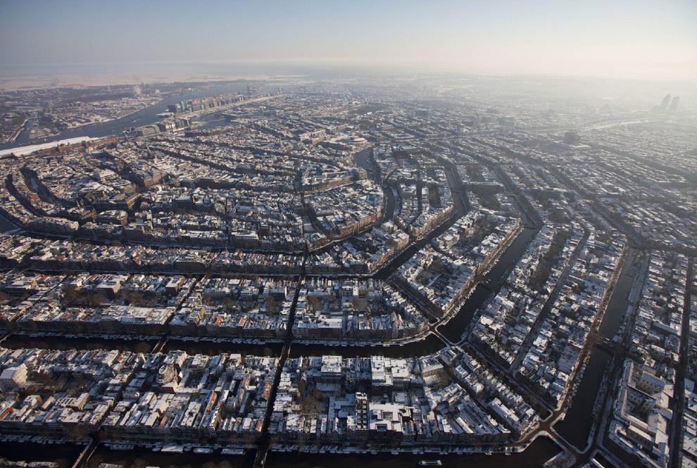 难以置信的各大城市鸟瞰美景