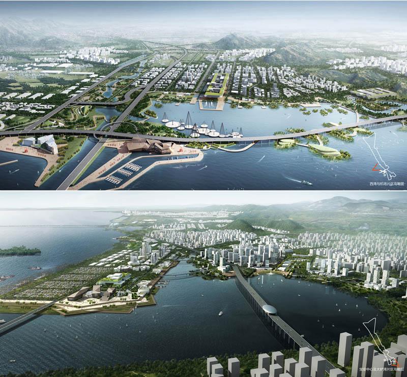 深规院在深圳宝安西部活力海岸带概念城市设计国际咨询中夺魁