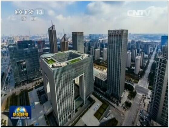 华森设计南京新城大厦成金陵新地标