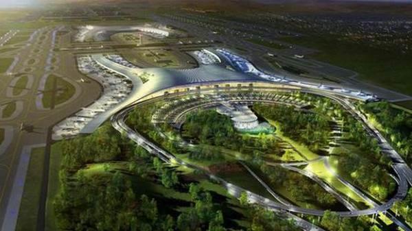 重庆江北国际机场新航站楼是由法国adpi公司设计的