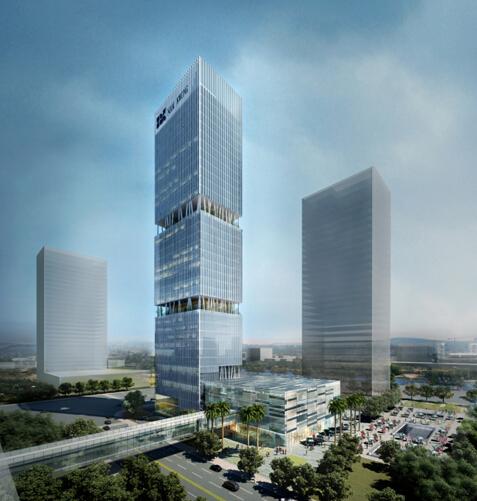 """华森公司中标""""横琴综合大楼项目""""图片"""