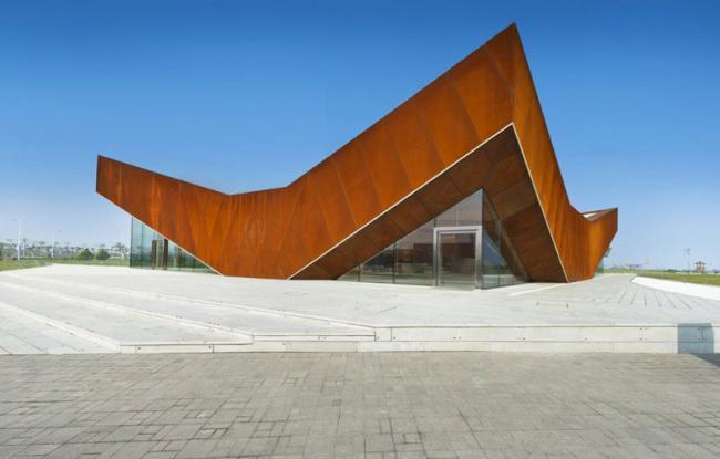 使用耐候钢的11个建筑设计案例