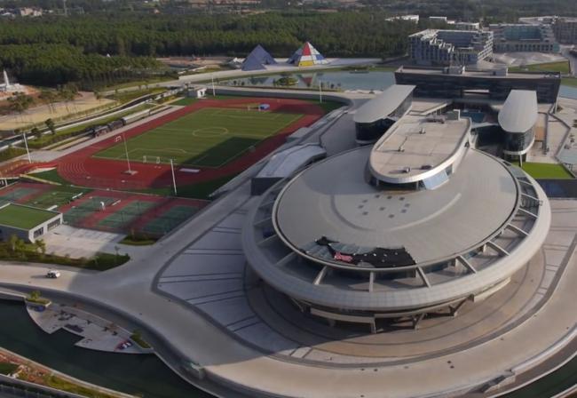 福州网龙公司总部建筑设计
