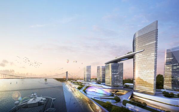 华艺设计 厦门西海湾邮轮城1 4号地块项目 中标