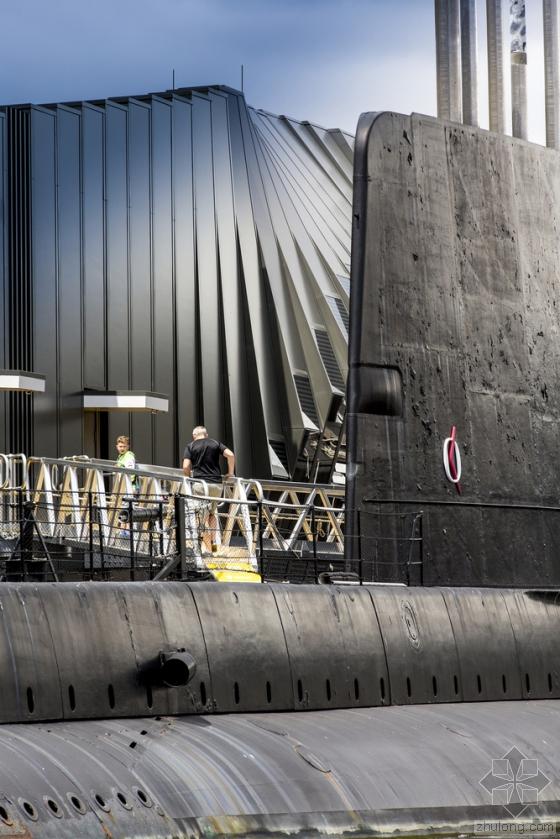 澳大利亚国家海事博物馆外部实景-澳大利亚国家海事博物馆第4张图片