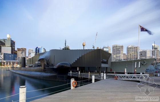 澳大利亚国家海事博物馆外部实景-澳大利亚国家海事博物馆第2张图片