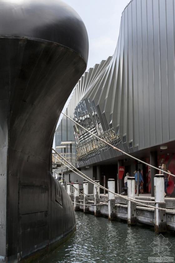 澳大利亚国家海事博物馆外部实景-澳大利亚国家海事博物馆第6张图片
