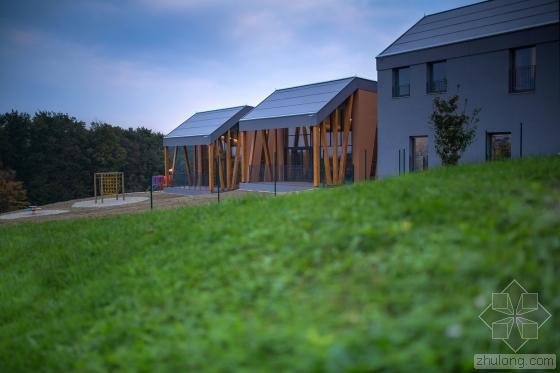 斯洛文尼亚Cerkvenjak幼儿园外部-斯洛文尼亚Cerkvenjak幼儿园第4张图片