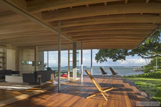 夏威夷火奴鲁鲁岛上住宅外部实景-夏威夷火奴鲁鲁岛上住宅第5张图片
