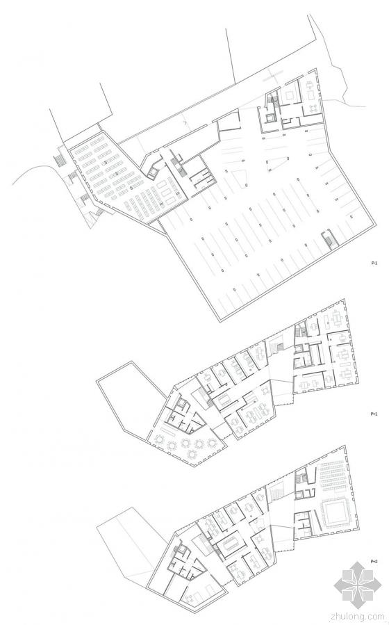 比利时布卢政厅平面图-比利时布卢政厅第15张图片