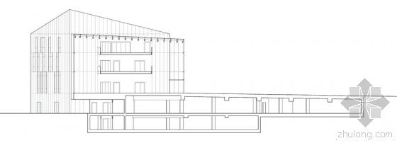 比利时布卢政厅剖面图-比利时布卢政厅第17张图片