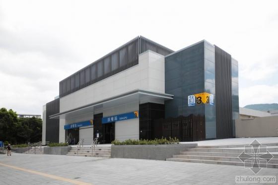 台北顶埔捷运站外部实景图-台北顶埔捷运站第3张图片