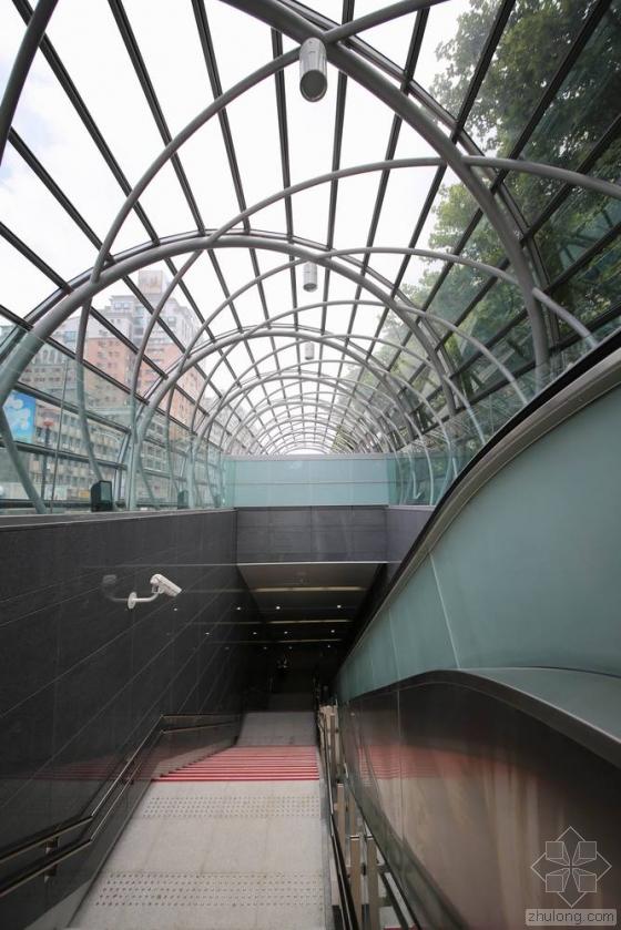 台北顶埔捷运站内部实景图-台北顶埔捷运站第7张图片